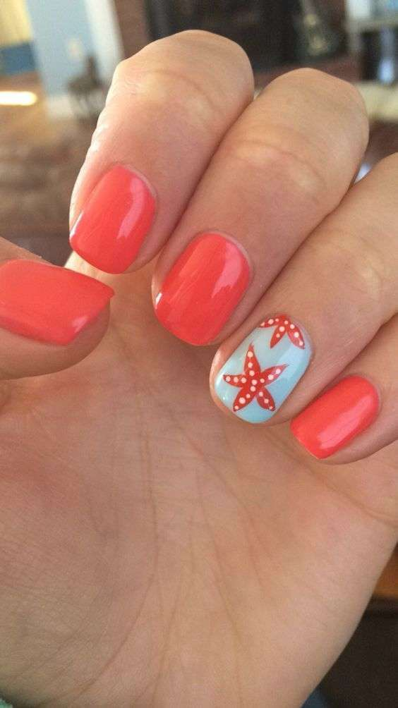 Preferenza Unghie gel estive, le nail art più belle (Foto 17/40) | Bellezza  IW69