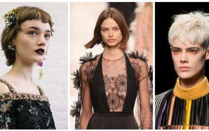 Tagli di capelli corti Autunno Inverno 2017-2018
