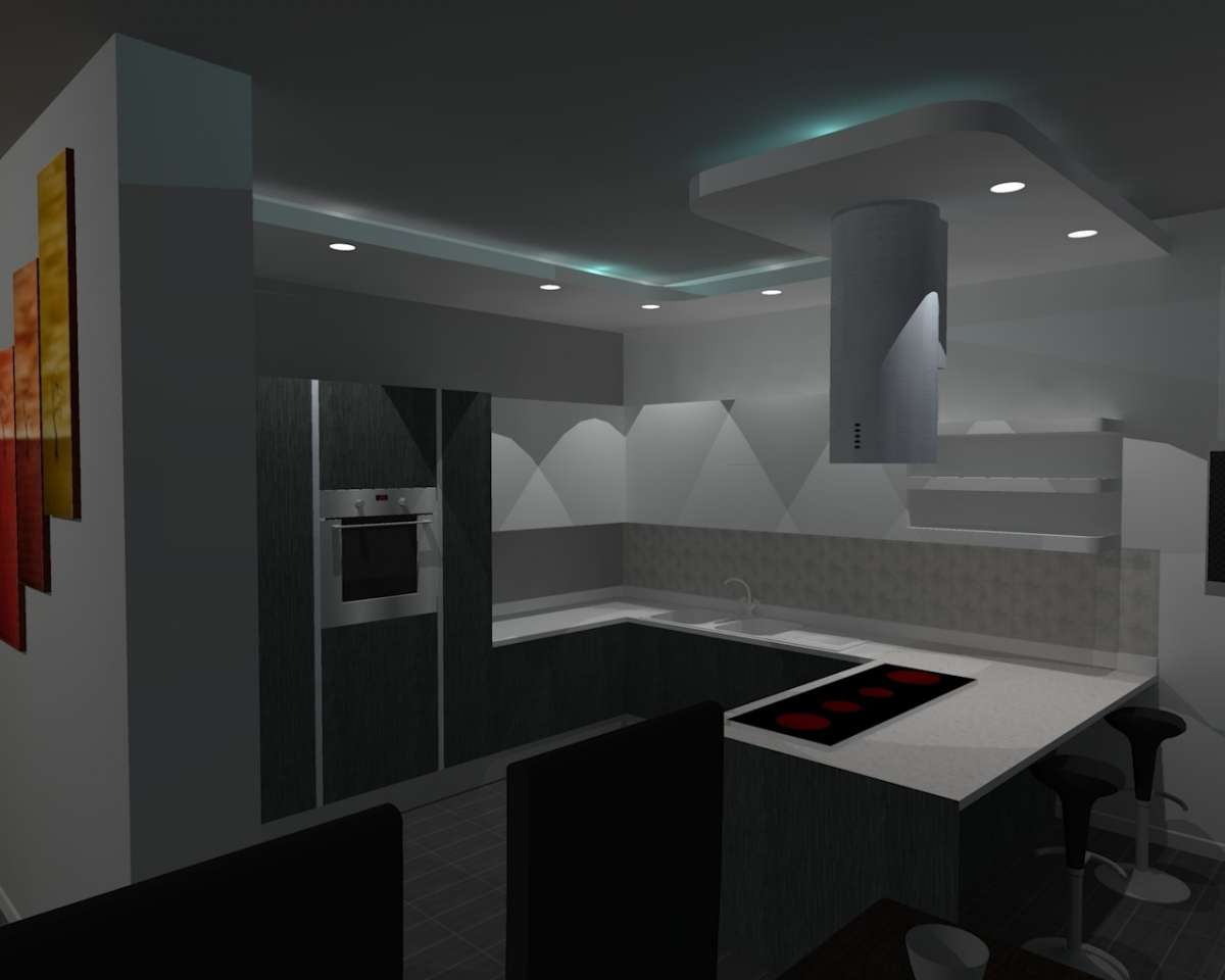 Plafoniere A Soffitto In Gesso : Soffitto in cartongesso moderno. amazing with