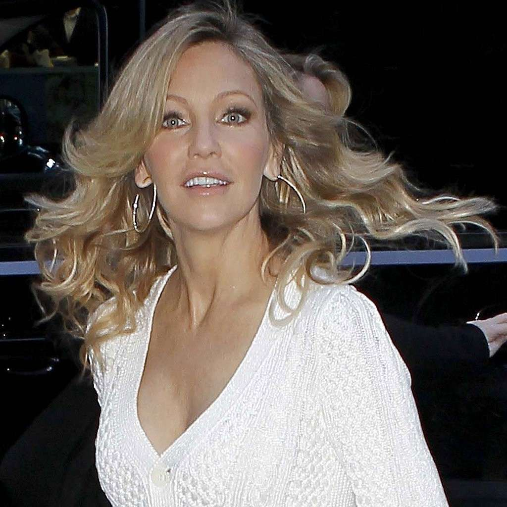 I capelli lunghi di Heather Locklear