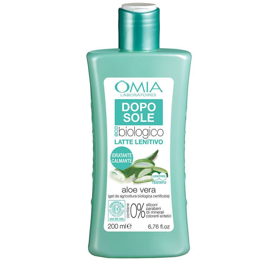 Doposole bio all'aloe Omia