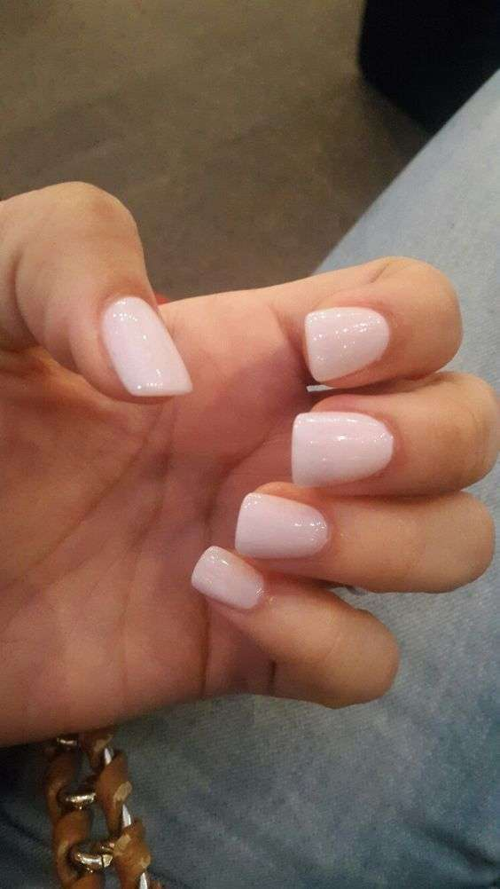 Unghie gel rosa candy