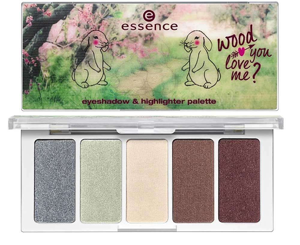 Palette ombretti Essence Wood you love me