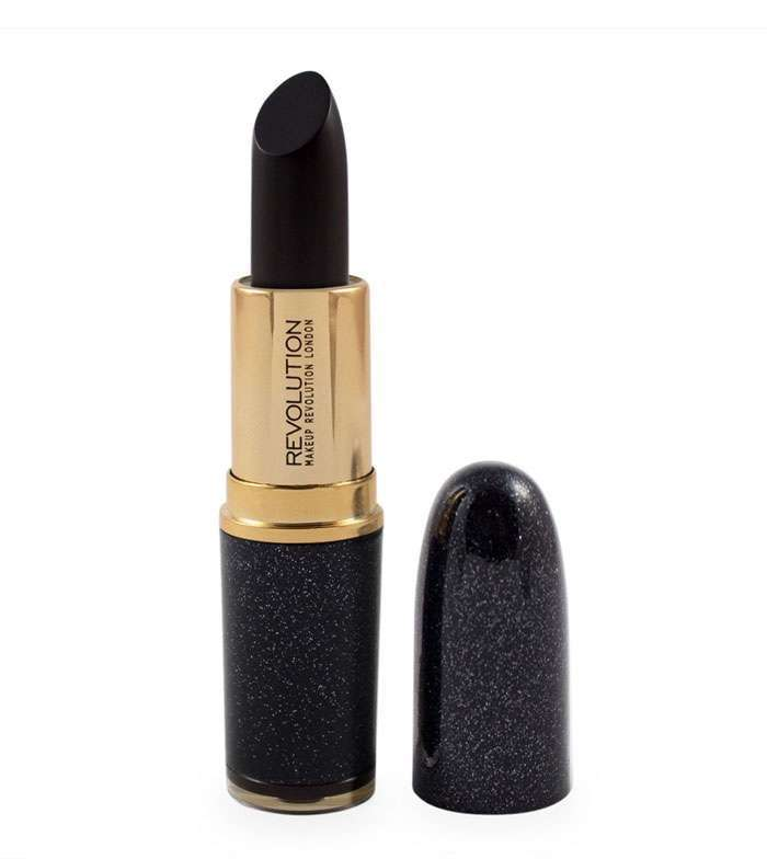Rossetto nero Makeup Revolution