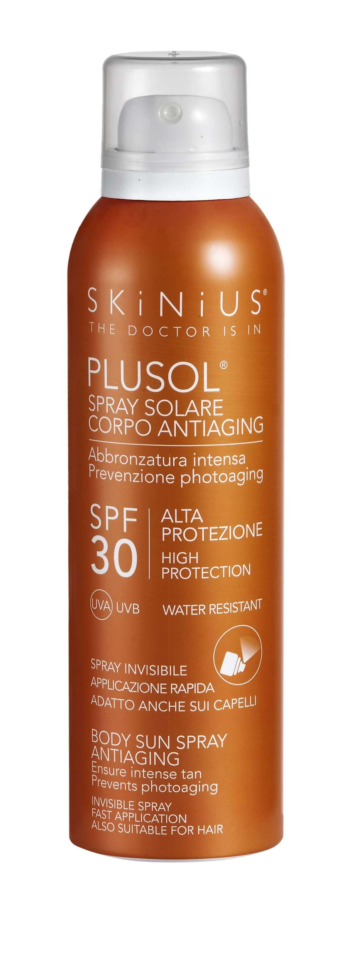 Skinius PLUSOL Spray Solare Corpo