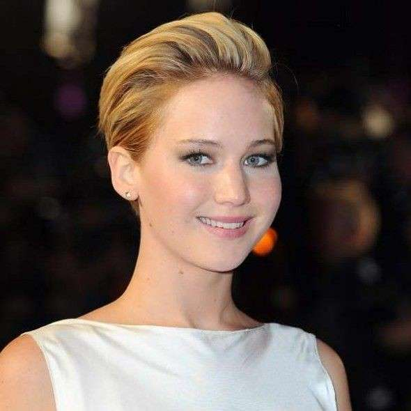 Jennifer Lawrence beauty look