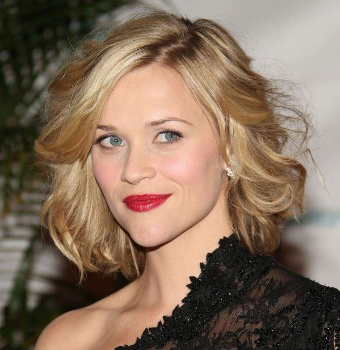 Capelli corti e mossi Reese Witherspoon