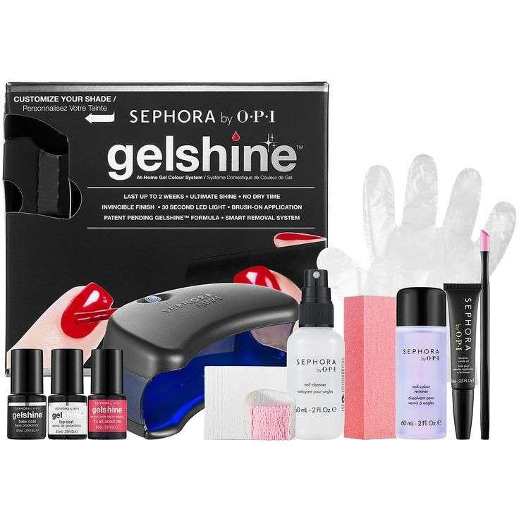 SEPHORA by OPI gelshine At Home Gel Colour System