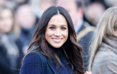 Meghan Markle, hair look