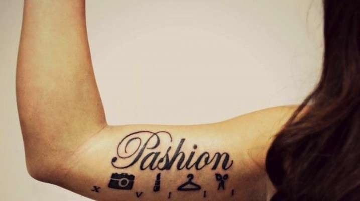 Tatuaggi per fashion victim