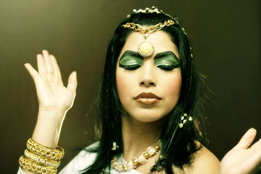 Make up in stile orientale da Cleopatra