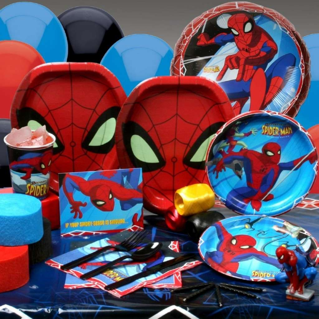 Party in tema Spiderman