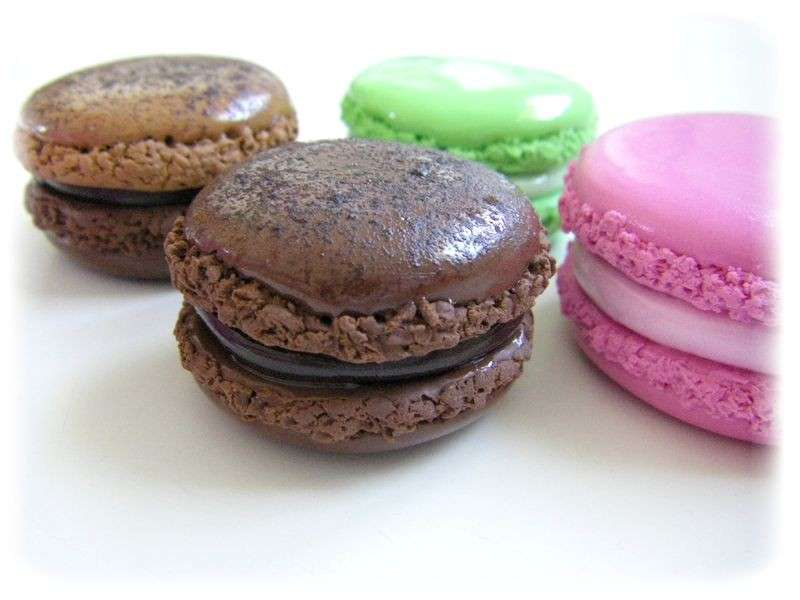 Macarons in fimo