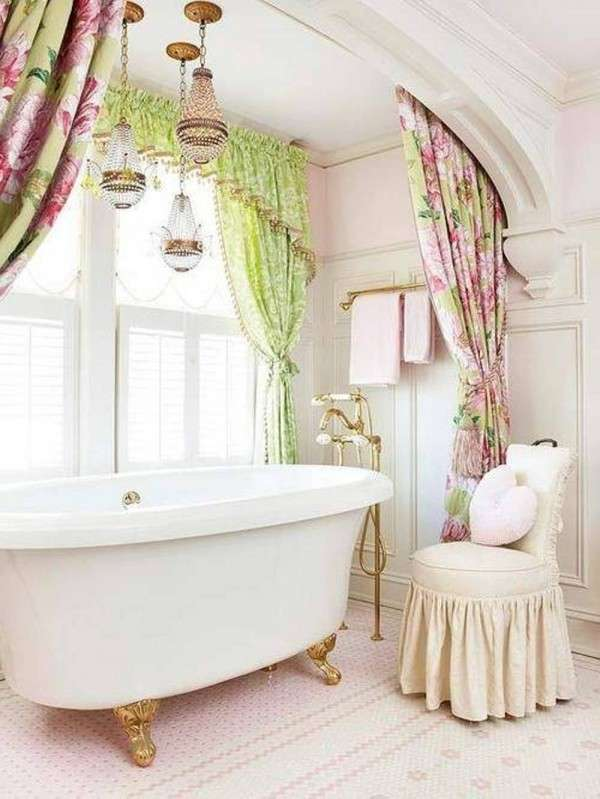 Shabby chic in bagno