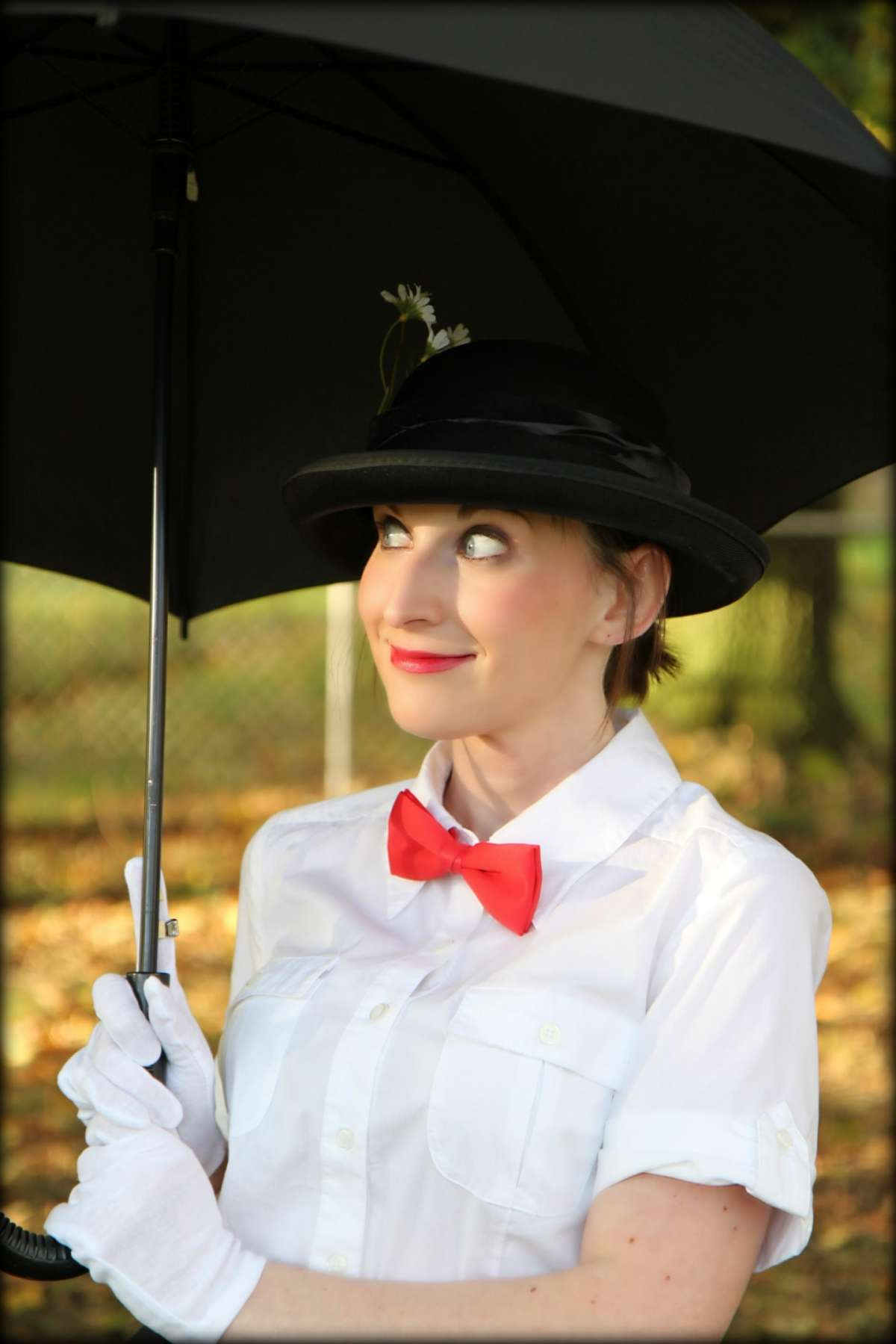 Costume di Halloween da Mary Poppins