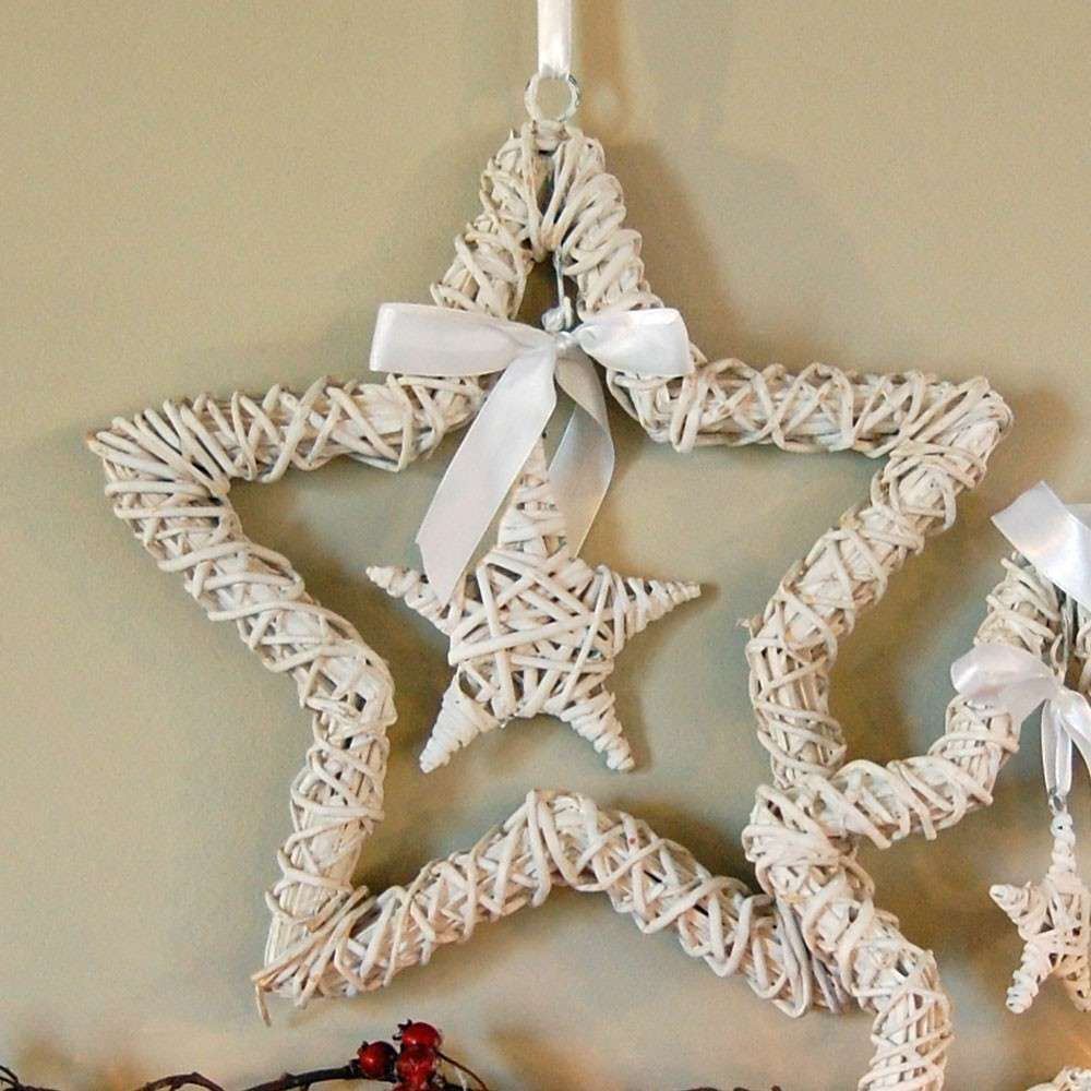 Stelle shabby chic di Natale