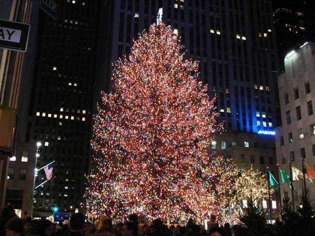 Decorazioni di Natale a New York