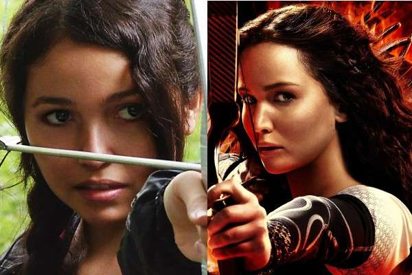 Katniss Everdeen di Hunger Games