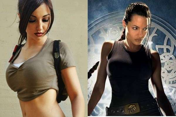 Lara Croft di Tomb Raider
