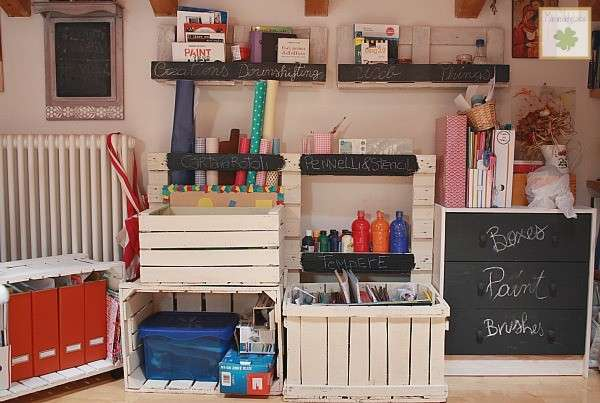 Idee per riciclare pallet