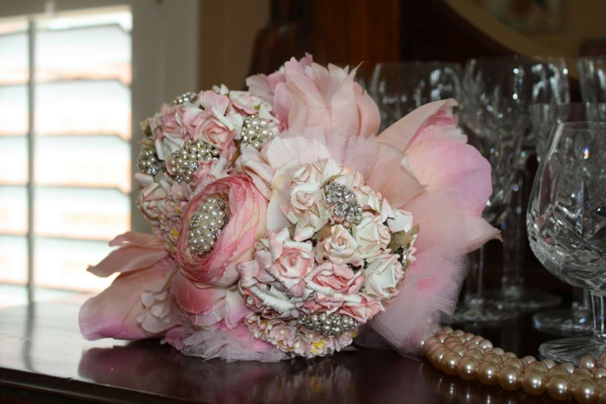Strass bouquet