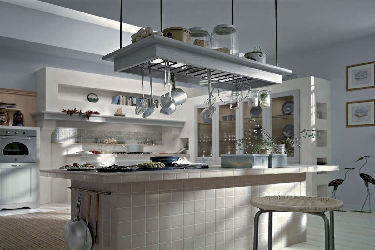 Cucine in murature moderne
