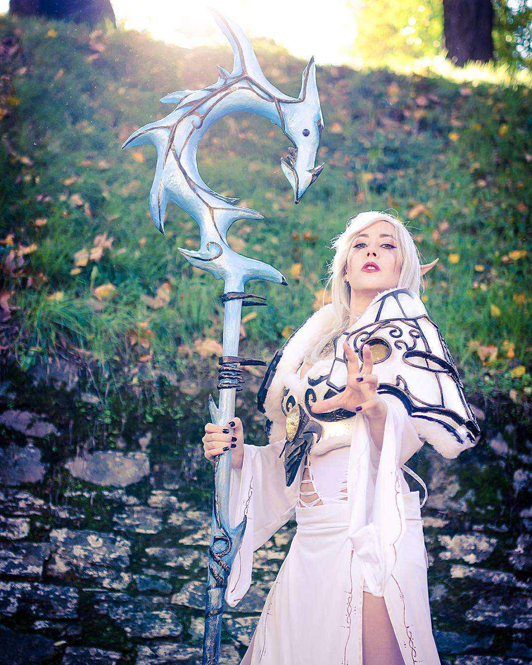 Cosplayer Wold of Warcraft